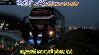 jiwa korsa 2 Bus Haryanto Kalimosodo bantu Hr 031 yg troble,ngawal sampai keluar tol