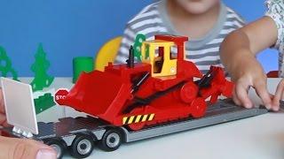 Дети и машины. БМВ, Бульдозер, Туристический автобус, Автовоз и Тягач. МанкитуИгры(Детское видео для детей. Ребята решили поиграть игрушками машинками. У них есть много разных машинок. Лёгк..., 2016-07-21T16:28:23.000Z)