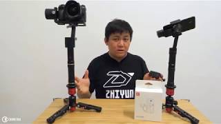 Testing one remote with two Zhiyun Gimbals test by Chung Dha