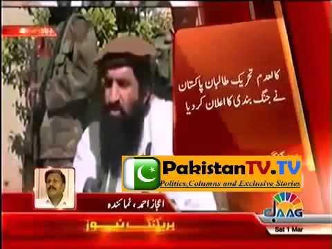 Pakistani Taliban TTP announce ceasefire for a month Pakistan TV TV