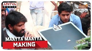 Maayya Maayya Making Majili Movie Naga Chaitanya Samantha Divyansha Kaushik