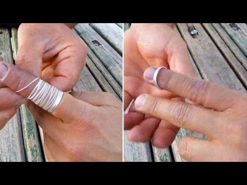 Get Ring Off Finger With String