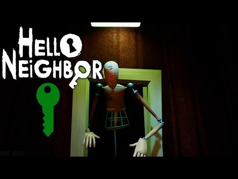 Hello Neighbor - Act 3: The Green Key - Gameplay Walkthrough (No Commentary)