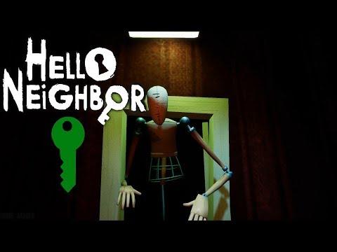 Hello Neighbor - Act 3: The Green Key - Gameplay Walkthrough (No Commentary)