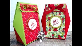 Countdown to Christmas Project No 9 - Box with Faceted Sides
