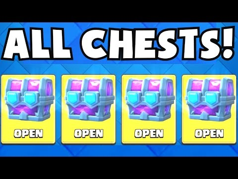 ALL DRAFT CHESTS OPENING | Clash Royale ULTIMATE CHAMPION DRAFT CHEST OPENING (LEAGUE 9 6400+)