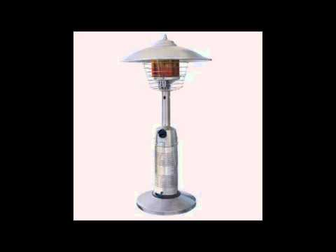 Endless Summer Round Stainless Steel Tabletop Patio Heater Youtube