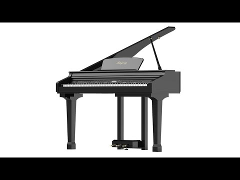 Unboxing/Review PIANO: Ringway GDP-100 1/4 de cola