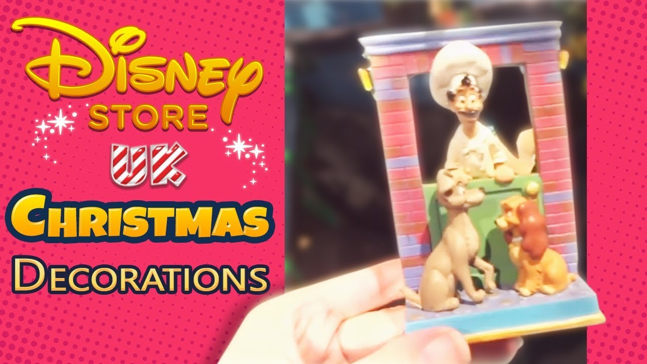 Disney Store Uk Christmas Decorations 2015
