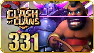 Let's Play CLASH of CLANS Part 331: CK Angriff gegen Deadpool mit Taktik
