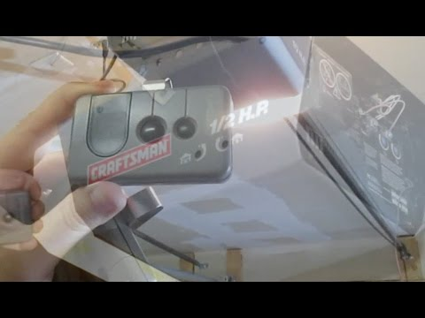Program Garage Door Opener Car Remote Craftsman How To Diy 14 13 1