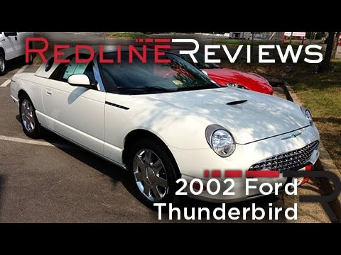 2002 Ford Thunderbird Review, Walkaround, Start Up, Test Dri