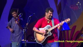 """Kodagana Koli Nungitha"" song by Raghu Dixit performing live @ 53rd Bengaluru Ganesh Utsava..!!!"