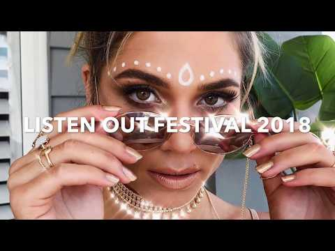 Get ready with Jordy - LISTEN OUT FESTIVAL 2018