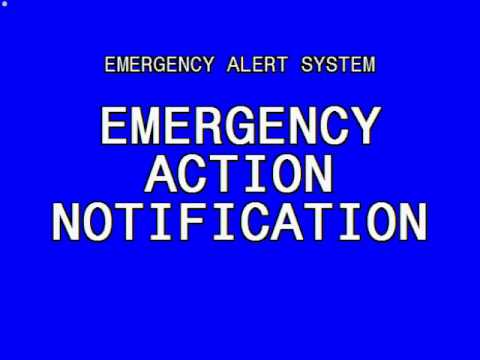 Emergency Alert system: Nuclear attack (US & Canada) - YouTube