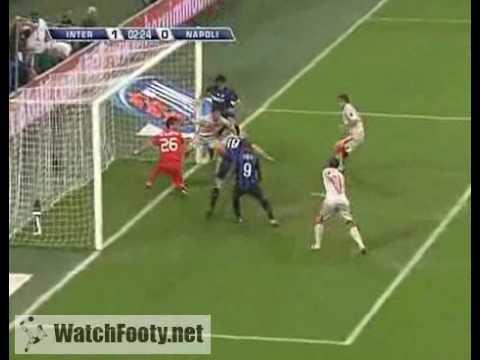 Download Inter Milan 1 - 0 Napoli (Eto'o) - 23/09/2009