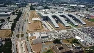 Брюссель, штаб-квартира НАТО - аэросъёмка для целеуказания