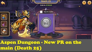 Idle Heroes - Aspen Dungeon Death 25 (Dungeon Baby Fails)