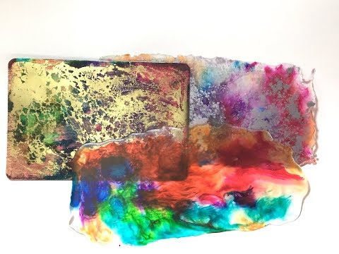 Pouring Resin for Journal Covers