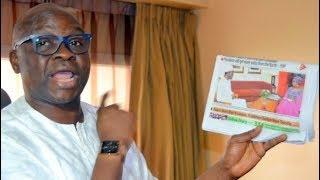Obasanjo knelt down for Ghadaffi, used me against Atiku, Makarfi – Fayose