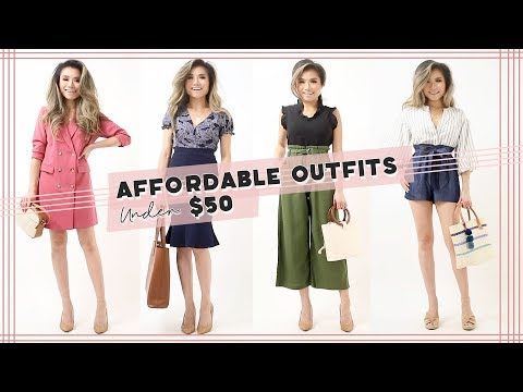 Fashion Finds - AFFORDABLE Outfit Ideas under $50 | Walmart Try On Clothing Haul