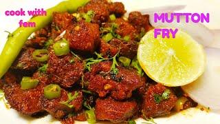 Crispy Mutton Fry -Ab Banaiye Sirf 5 minute may aur Gosht ko 2 Mahine Tak Store Karne Ka Tip Sikhiye