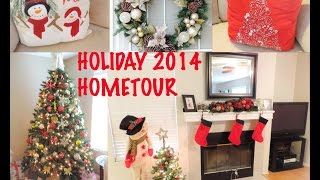 Holiday Home Tour  2014 & Decoration Tips