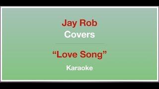 Love Song - Sara Bareilles - Karaoke (piano)