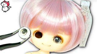 【ゆめかわドールを手作り❤︎】リカちゃん達が初めて人形のカスタムに挑戦するよ♪ ウィッグでヘアチェンジをしてオビツ11の新しいお友達作り❤︎ Full Customized Obitsu body