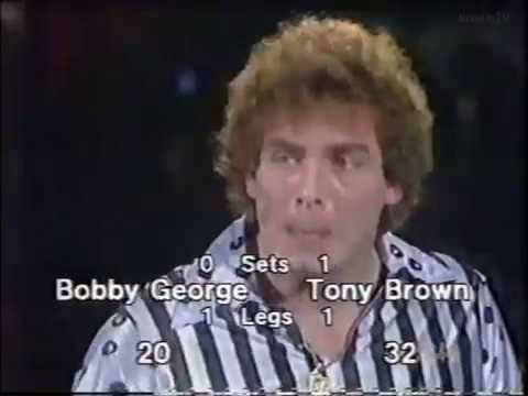 Tony Brown vs Bobby George 1983 World Darts Championship Round 1