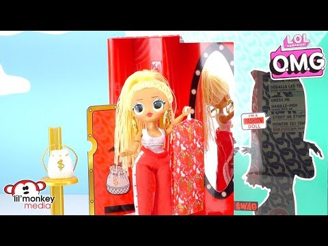 LOL Surprise OMG Fashion Dolls! #COLLECTOMG! LOL Doll Play and Toy Unboxing!