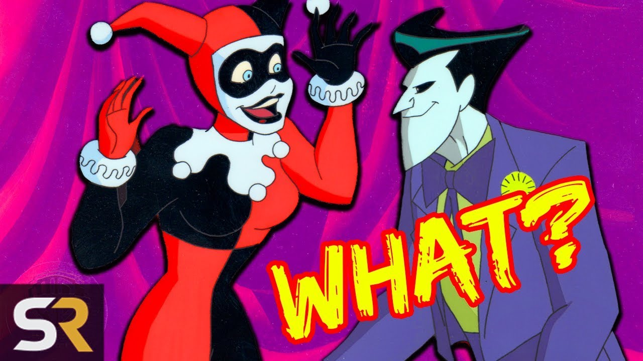 The Dark Truth about The Joker And Harley Quinn's Relationship in Batman: The Animated Series