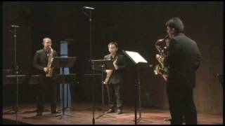 Quatuor pour Saxophones by Pierre Max Dubois