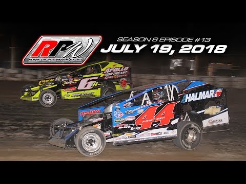 Race Pro Weekly - Season 6 Episode #13 - July 19, 2018 - dirt track racing video image