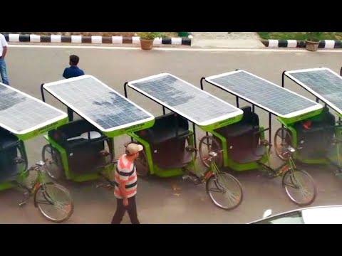 CEL hands-over 10 solar-powered rickshaws in IIT-Delhi