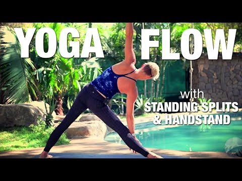 Vinyasa Flow W/ Standing Splits & Handstand Yoga Class - Five Parks Yoga