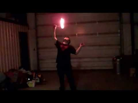Ryan Stock fire stunt