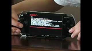 PSP: Using Recovery Menu - The Game Could Not be Started