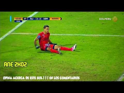 Gol de Gonzalo Godoy ALIANZA LIMA 3 san martin 2