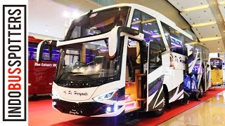 BUS MADE IN MADIUN! ZEPPELIN G3 DOUBLE GLASS HARYANTO | Bus Review #12