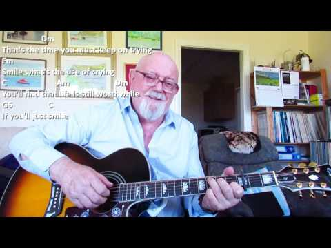 Guitar: Smile (Including lyrics and chords)