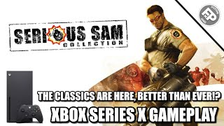Serious Sam Collection - Xbox Series X Gameplay (4K)