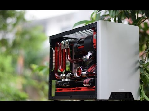 NCASE M1 V3 Watercooling Final result [Square Project #3] Time-Lapse Build