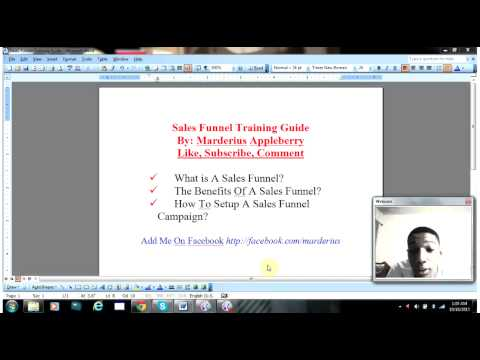 Sales Funnel Marketing Pt 1. Introduction (Internet Marketing Jobs)
