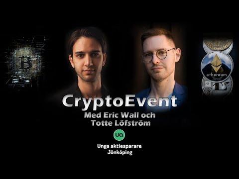 Experterna förklarar krypto med Totte Löfström (CEO, Trijo) och Eric Wall (CIO, Arcane Crypto)