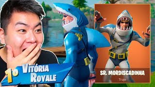 I BOUGHT THE NEW SKIN OF THE SHARK * LEGENDARY * AND VENCI!! -Fortnite Battle Royale