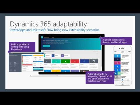 April 2017 Dynamics 365 Partner call - PowerApps and Microsoft Flow