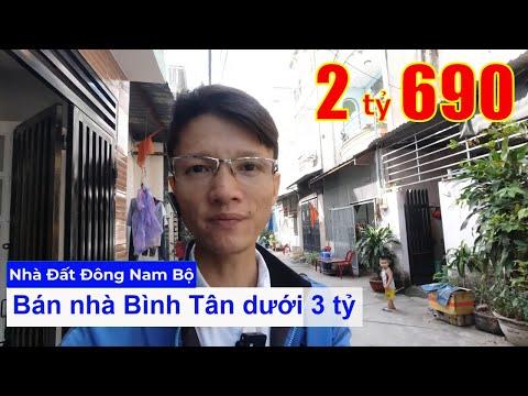 Chính chủ Bán nhà quận Bình Tân dưới 3 tỷ, hẻm 243 Mã Lò phường Bình Trị Đông A quận Bình Tân, hẻm 6m SHR