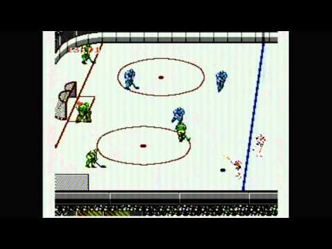 Classic Game Room - BLADES OF STEEL for NES review