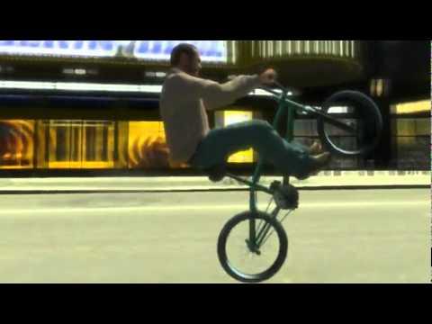Gta Iv Bmx Bike Mod Youtube